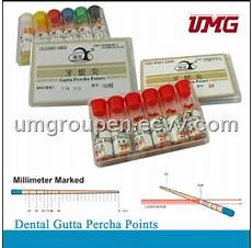 Root Canal Filling Material Root Canal Filling Materials Millimeter Marked Gutta