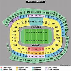 Us Bank Seating Chart Metallica Super Bowl Tickets 2018 Super Bowl Minneapolis Mn