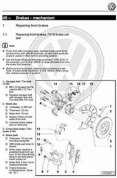 Volkswagen Up E Up 2011 2018 Factory Repair Manual