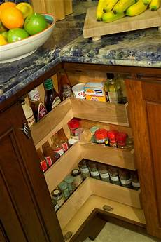 kitchen lazy susan spice rack cabinet traditional