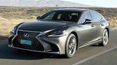 2018 grey lexus ls 500h awd performance and smoothness