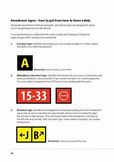 Mandatory Airport Instruction Signs Are Designated By Pilots Guide To Runway Safety