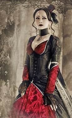 steunk gothic ladies beauty fashion costume
