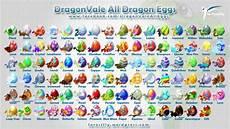 Dragonvale Guide Egg Chart Dragonvale Eggs Chart 2013 Dragonvale All Eggs By