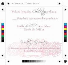 Online Rsvp Cards Online Rsvp What Do You Think Of The Wording
