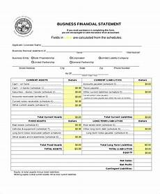 Small Business Financial Statements Examples Free 10 Sample Business Financial Statement Forms In Pdf