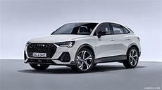 Audi Q3 S Line 2020 2020 audi q3 sportback s line color dew silver front
