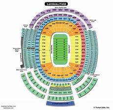 Seating Chart Folsom Field Lambeau Field Seating Chart Seating Charts Amp Tickets