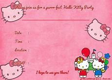 Hello Kitty Birthday Template Printable Hello Kitty Birthday Invitation Template Free