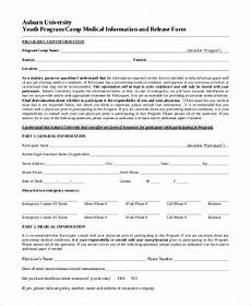 Generic Release Of Medical Information Form Free 7 Release Of Medical Information Forms In Pdf Word