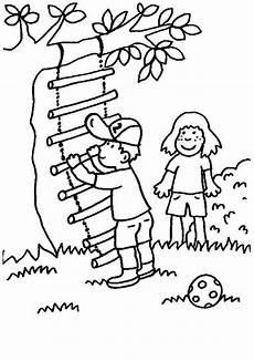 kostenlose malvorlage rund ums spielen kinder mit