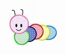 Applique Designer Caterpillar Applique Machine Embroidery Design