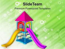 Playground Templates Let The Children Play In Playground Powerpoint Templates