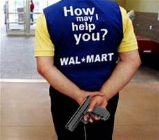 Walmart Security Guard Walmart Enlists Armed Guards Ahead Of Black Friday