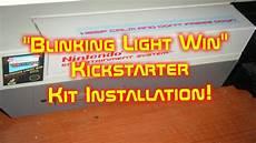 Blinking Light Mod Nintendo Nes Blinking Light Win Cartridge Tray Mod Youtube
