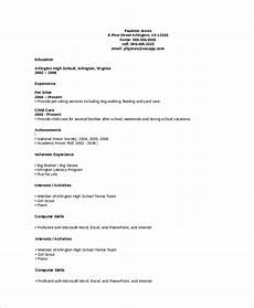 Resume For No Job Experience Sample Free 8 Resume Samples For Job In Ms Word Pdf