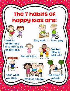 Good Habits Chart For School New Year Resolution Writing For Primary Students Good