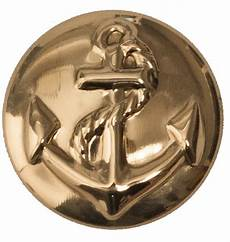 1 1 8 inch solid brass anchor style cabinet knob