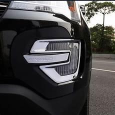 2018 Ford Explorer Light Cover Car Plastic Chromed Abs Front Fog Lamp Cover Fog Light