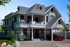 Western Homes Floor Plans Western Style Villa By Devika Homes Kerala Home Design