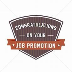 Congratulations On Promotion Congratulatory Message On Job Promotion Vector Image