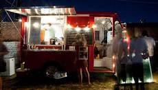 Outside Lighting For Mobile Food Truck Food Truck At Night Google Search Lighting Design