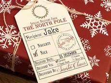 Santa Tag Free Printable Gift Tags From Santa Bear Hugs And