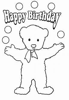 Ausmalbilder Geburtstag Ausdrucken Birthday Coloring Pages
