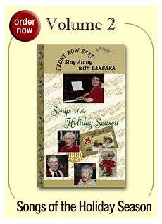 Senior Sing Along Dvd Front Row Seat Videos