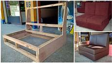 wood structure how to build a simple sofa frame