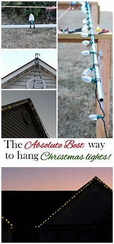Ways To Hang Christmas Lights Hanging Christmas Lights The Easy Way Hanging Christmas