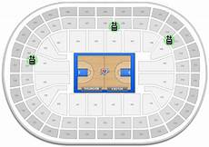 Ford Center Seating Chart With Rows Oklahoma City Thunder Chesapeake Energy Arena Seating