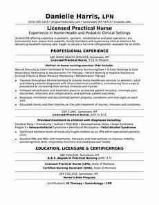 Resumes Samples For Nurses Licensed Practical Nurse Resume Sample Monster Com