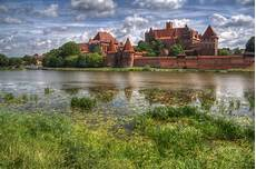 Poland Nature 4k Wallpaper by Malbork Castle In Poland Tourist Attractions 4k Wallpapers