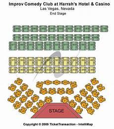 Improv Seating Chart Improv At Harrah S Las Vegas Tickets 2017 Improv At