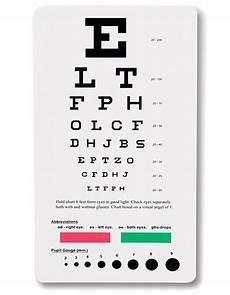 Where To Buy Snellen Eye Chart Buy Prestige Snellen Pocket Eye Chart For 5 95