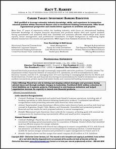 Mergers And Inquisitions Cover Letter Example Investment Banking Resume Page 1 Resume