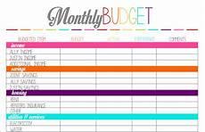 Simple Budgeting Tool Printable Budget Planner Uk Planner Template Free