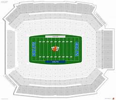 Lucas Oil Seating Chart Indianapolis Colts Seating Guide Lucas Oil Stadium