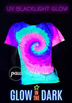 How To Make A Black Light Shirt Glow In The Dark Shirts Neon Rainbow Tie Dye Unisex T