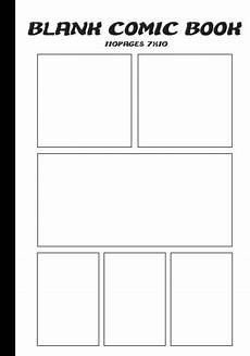 Blank Comic Book Panels Blank Comic Blank Comic Book 7 X10 With 6 Panel