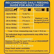 Pedigree Puppy Feeding Chart Pedigree Dry Dog Food Complete Nutrition Dry Dog Food