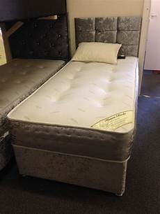 divan crushed velvet bf beds cheap beds leeds