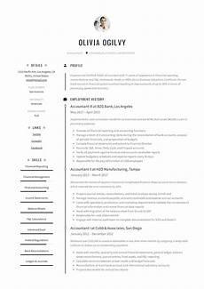 Sample Resume In Pdf Accountant Resume Amp Writing Guide 12 Resume Templates Pdf