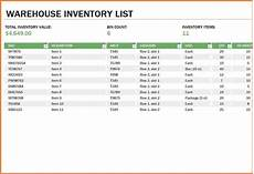 Warehouse Inventory Management Spreadsheet 8 Inventory Spreadsheet Template For Excel Excel