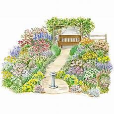 englischer garten plan heirloom garden plan