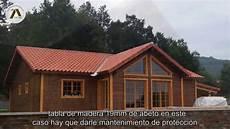 de madera casas de madera paredes y aislamientos