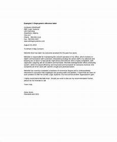 Letter Of Recommendation From Former Employer Free 5 Sample Recommendation Letter From Employer In Ms