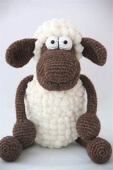 amigurumi sheep crochet safety pompon yarn