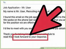Email Introducing Yourself 3 Ways To Introduce Yourself Via Email Wikihow